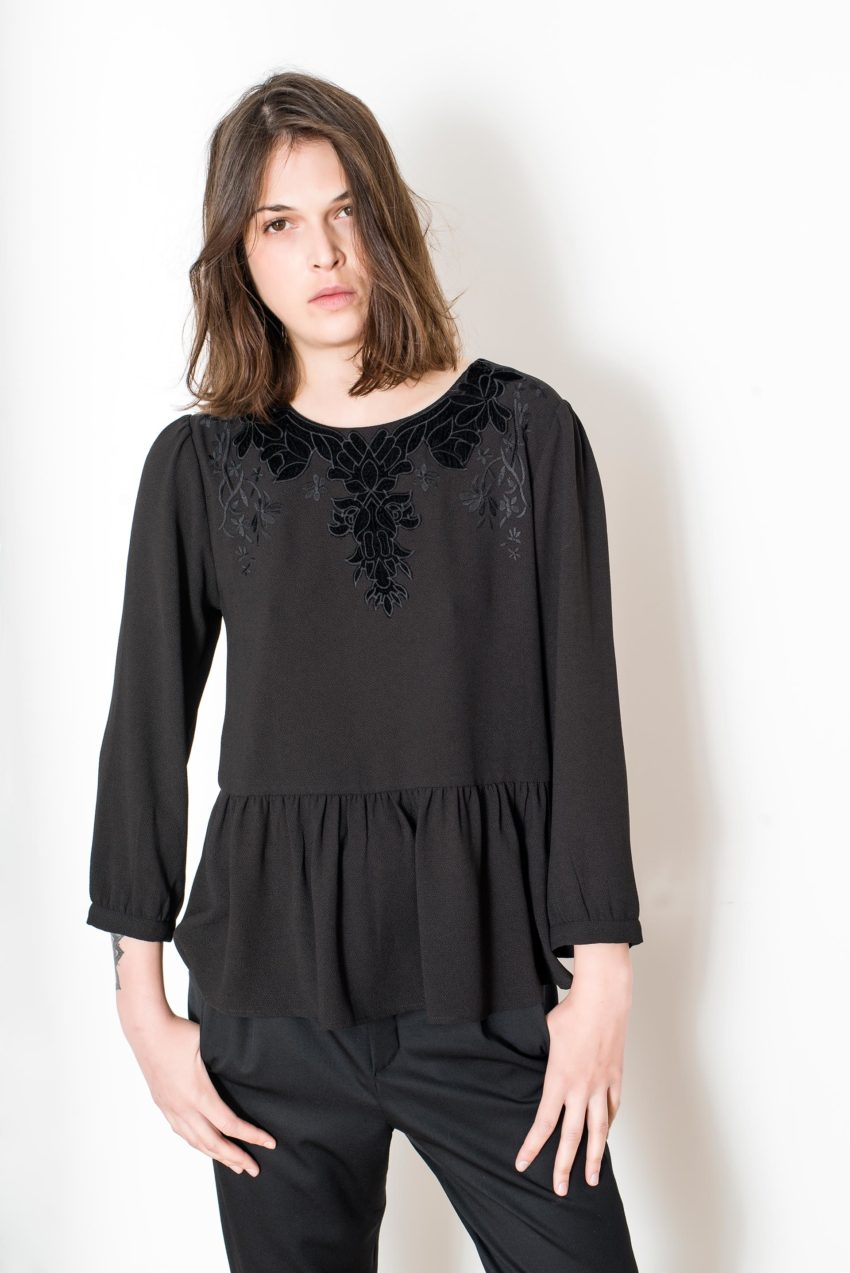 YUMI BLOUSE – Polyester Crepe